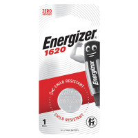 ENERGIZER E300844001 Батарейка ENERGIZER, CR 1620, литиевая, 1 шт., в блистере, E300844001