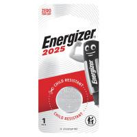 ENERGIZER E301021601 Батарейка Energizer, CR 2025, литиевая, 1 шт., в блистере, E301021601