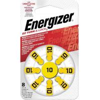ENERGIZER E301431701 Батарейки для слуховых аппаратов КОМПЛЕКТ 8 шт., ENERGIZER Zinc Air 10, блистер, E301431701