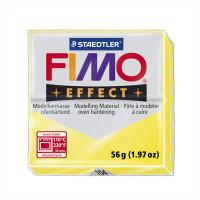 """FIMO  """"FIMO"""" Effect полимерная глина 57 г 8020-104 полупрозрачный жёлтый"""