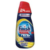 "FINISH 3071031 Гель для мытья посуды в посудомоечных машинах 600 мл FINISH All in 1 MAX, ""Анти-жир""., 3071031"