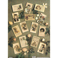 Finmark 23 A4-023 Gr P/Cards W/ Pk Roses