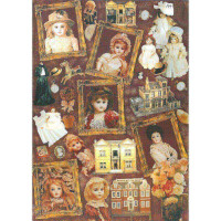 Finmark 48 AZ048 Antique Dolls/Антикварная кукла