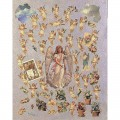 """Finmark A4-014 Декупажная карта """"Angels & Cherubs"""""""