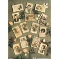 "Finmark A4-023 Декупажная карта ""Gr P/Cards W/ Pk Roses"""