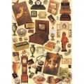 """Finmark A4-038 Декупажная карта """"Antiques"""""""