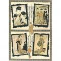 """Finmark A4-068 Декупажная карта """"Japanese Beauties"""""""