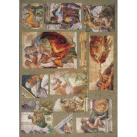 "Finmark A4-078 Декупажная карта ""Michelangelo"""