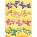 """Finmark A4-214 Декупажная карта """"Rainbow Butterflies"""""""
