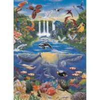 """Finmark A4-561 Декупажная карта """"Ocean Jungle"""""""