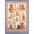 "Finmark A4-816 Декупажная карта ""Viv's Teddy Bear Collection"""