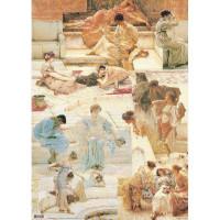 """Finmark AZ058 Декупажная карта """"Lawrence Alma-Tadema"""""""