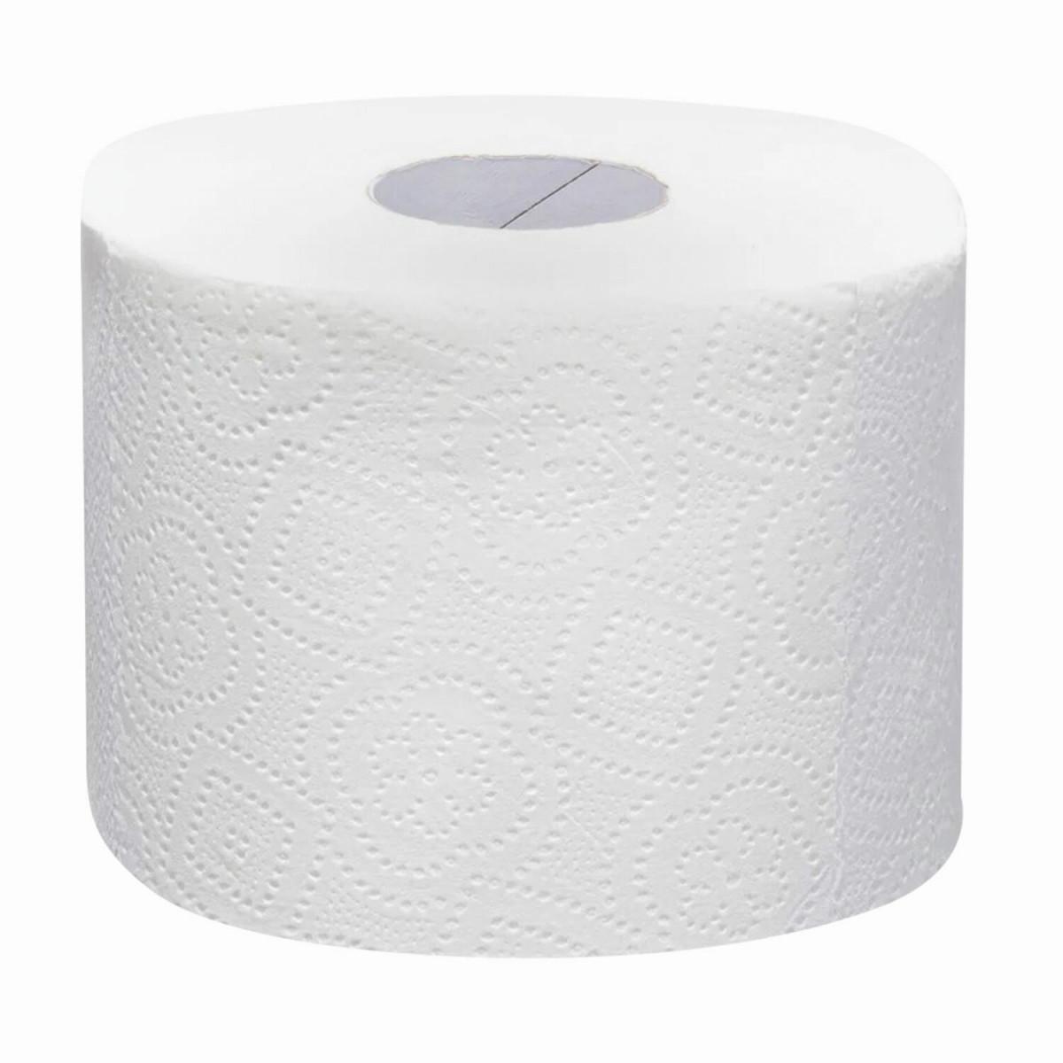Бумага туалетная, спайка 6 шт., 2-слойная (6х48 м) Focus Extra, белая, 5042265 (арт. 5042265)