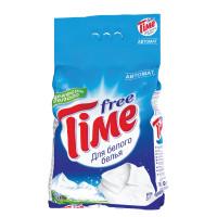 """FREE TIME 353-5 Стиральный порошок-автомат, 3 кг, FREE TIME (Фри Тайм) """"Для белого"""" (Нэфис Косметикс), 353-5"""