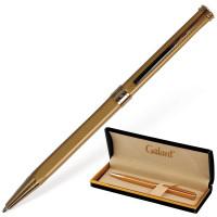 """GALANT 140527 Ручка подарочная шариковая GALANT """"Stiletto Gold"""", тонкий корпус, золотистый, золотистые детали, пишущий узел 0,7 мм, синяя, 140527"""