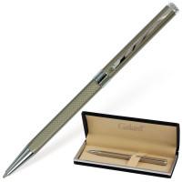 """GALANT 140528 Ручка подарочная шариковая GALANT """"Stiletto Chrome"""", тонкий корпус, серебристый, хромированные детали, пишущий узел 0,7 мм, синяя, 140528"""