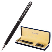 """GALANT 140652 Ручка подарочная шариковая GALANT """"Arrow Chrome Grey"""", корпус серый, хромированные детали, пишущий узел 0,7 мм, синяя, 140652"""