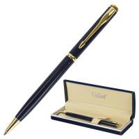 """GALANT 140653 Ручка подарочная шариковая GALANT """"Arrow Gold Blue"""", корпус темно-синий, золотистые детали, пишущий узел 0,7 мм, синяя, 140653"""