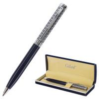 """GALANT 140961 Ручка подарочная шариковая GALANT """"Empire Blue"""", корпус синий с серебристым, хромированные детали, пишущий узел 0,7 мм, синяя, 140961"""