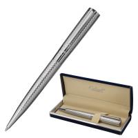 """GALANT 143506 Ручка подарочная шариковая GALANT """"ETUDE"""", корпус серебристый, детали хром, узел 0,7 мм, синяя, 143506"""