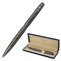 """GALANT 143508 Ручка подарочная шариковая GALANT """"NUANCE"""", корпус оружейный металл, детали оружейный металл, узел 0,7 мм, синяя, 143508"""