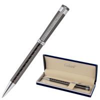"""GALANT 143509 Ручка подарочная шариковая GALANT """"MARINUS"""", корпус оружейный металл, детали хром, узел 0,7 мм, синяя, 143509"""