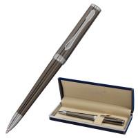 """GALANT 143516 Ручка подарочная шариковая GALANT """"PASTOSO"""", корпус оружейный металл, детали хром, узел 0,7 мм, синяя, 143516"""