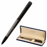 """GALANT 143521 Ручка подарочная шариковая GALANT """"PUNCTUM"""", корпус черный/оружейный металл, детали черные, узел 0,7 мм, синяя, 143521"""