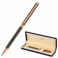 """GALANT 143524 Ручка подарочная шариковая GALANT """"ASTRON BRONZE"""", корпус металлический, детали розовое золото, узел 0,7 мм, синяя, 143524"""
