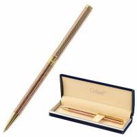 """GALANT 143526 Ручка подарочная шариковая GALANT """"ASTRON GOLD"""", корпус розовое золото, детали золотистые, узел 0,7 мм, синяя, 143526"""