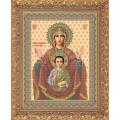 Galla Collection И 011 Икона Божией Матери Образ Знамения
