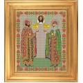 Galla Collection И 028 Икона ростовая Св. Петр и Феврония Муромские