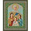 Galla Collection И 048 Икона Вера, Надежда, Любовь и мать их София