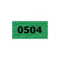 "Гамма 0207-0819 мулине ""Gamma"" (0207-0819) х/б 8 м (0504, зеленый)"