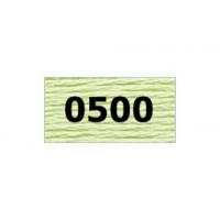 "Гамма 0207-0819 мулине ""Gamma"" (0207-0819) х/б 8 м (0500, бледно-салатовый)"