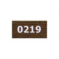 """Гамма 0207-0819 мулине """"Gamma"""" (0207-0819) х/б 8 м (0219, коричневый)"""