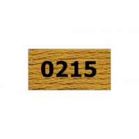 "Гамма 0207-0819 мулине ""Gamma"" (0207-0819) х/б 8 м (0215, золотисто-коричневый)"