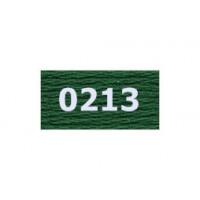 "Гамма 0207-0819 мулине ""Gamma"" (0207-0819) х/б 8 м (0213, т.зеленый)"