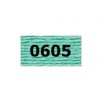 """Гамма 0207-0819 мулине """"Gamma"""" (0207-0819) х/б 8 м (0605, св.бирюза)"""