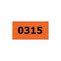 "Гамма 0207-0819 мулине ""Gamma"" (0207-0819) х/б 8 м (0315, красно-оранжевый)"