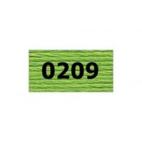 "Гамма 0207-0819 мулине ""Gamma"" (0207-0819) х/б 8 м (0209, св.зеленый)"