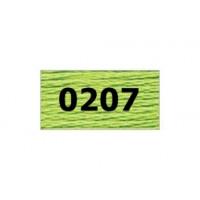 "Гамма 0207-0819 мулине ""Gamma"" (0207-0819) х/б 8 м (0207, салатовый)"