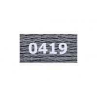 "Гамма 0207-0819 мулине ""Gamma"" (0207-0819) х/б 8 м (0419, т.серый)"