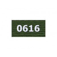 """Гамма 0207-0819 мулине """"Gamma"""" (0207-0819) х/б 8 м (0616, т.хаки)"""