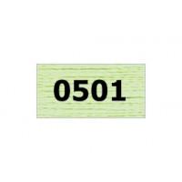 """Гамма 0207-0819 мулине """"Gamma"""" (0207-0819) х/б 8 м (0501, св.салатовый)"""