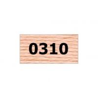 "Гамма 0207-0819 мулине ""Gamma"" (0207-0819) х/б 8 м (0310, св.персиковый)"