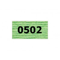 "Гамма 0207-0819 мулине ""Gamma"" (0207-0819) х/б 8 м (0502, салатовый)"