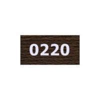 """Гамма 0207-0819 мулине """"Gamma"""" (0207-0819) х/б 8 м (0220, т.коричневый)"""