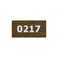 """Гамма 0207-0819 мулине """"Gamma"""" (0207-0819) х/б 8 м (0217, св.коричневый)"""