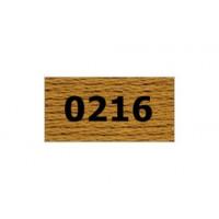 """Гамма 0207-0819 мулине """"Gamma"""" (0207-0819) х/б 8 м (0216, св.коричневый)"""